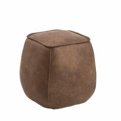 Pouf Mirza 40x40 - brun