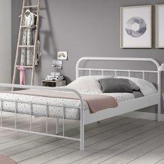 Bed Boston 140x200cm - wit