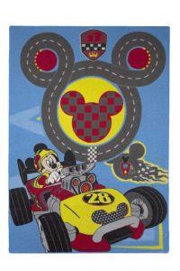Tapijt Mickey - racebaan