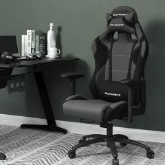 Chaise gamer Ryan - noir/gris