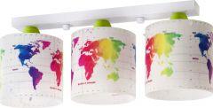 Plafondlamp Map