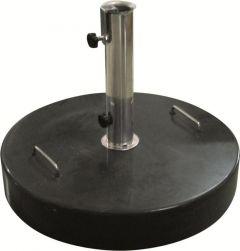 Ronde parasolvoet in graniet - 40 kg