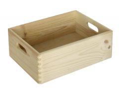 Caisson à jouets Maxine en bois 40x30x14