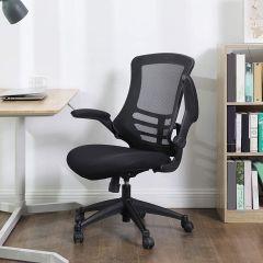 Chaise de bureau Logan - noir