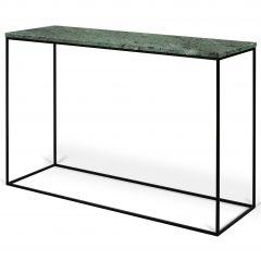 Sidetable Gleam - groen marmer/staal