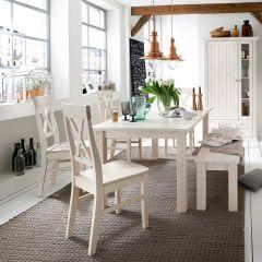 Set de 2 chaises Edmund - blanc
