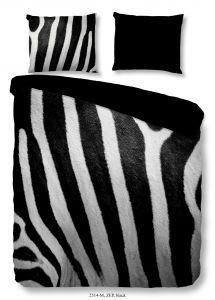 Housse de couette Zebra 140x220 - noir