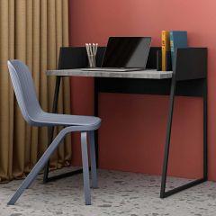 Bureau Volta 90cm - zwart/beton