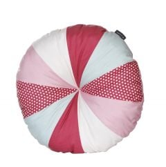 Coussin rond - rose