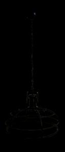 Hanglamp Crown - ø60 cm - powder coated black