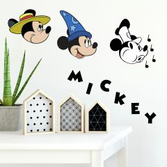 Muurstickers Mickey Mouse Classic 90th Anniversary