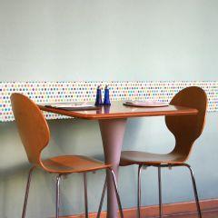 Stickers muraux 3D Colorful Pois - mousse