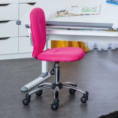 Chaise de bureau Mali - rose