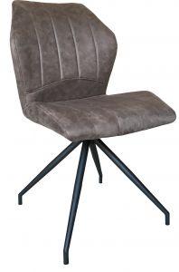 Lot de 2 chaises Viva - brun