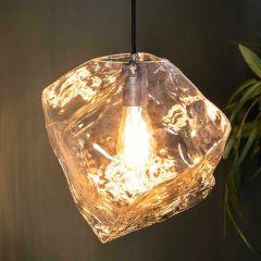 Suspension Rock 1 source de lumière - transparent