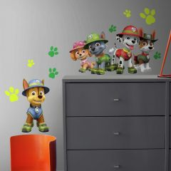 XL muurstickers Paw Patrol Jungle