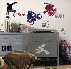 RoomMates stickers muraux - Sports Extrêmes