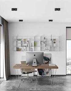 Tafel Multis 180cm - walnoot/chroom