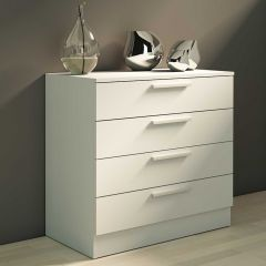 Commode Ramos 4 laden - wit