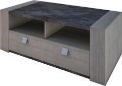 Table basse Iris - chêne gris