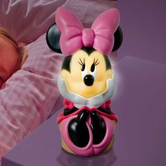 Veilleuse et lampe de poche Minnie Mouse