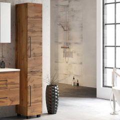 Colonne Dusan à 2 portes & 1 tiroir - chêne wotan