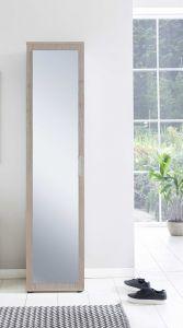 Kast Hidde met spiegeldeur - eik