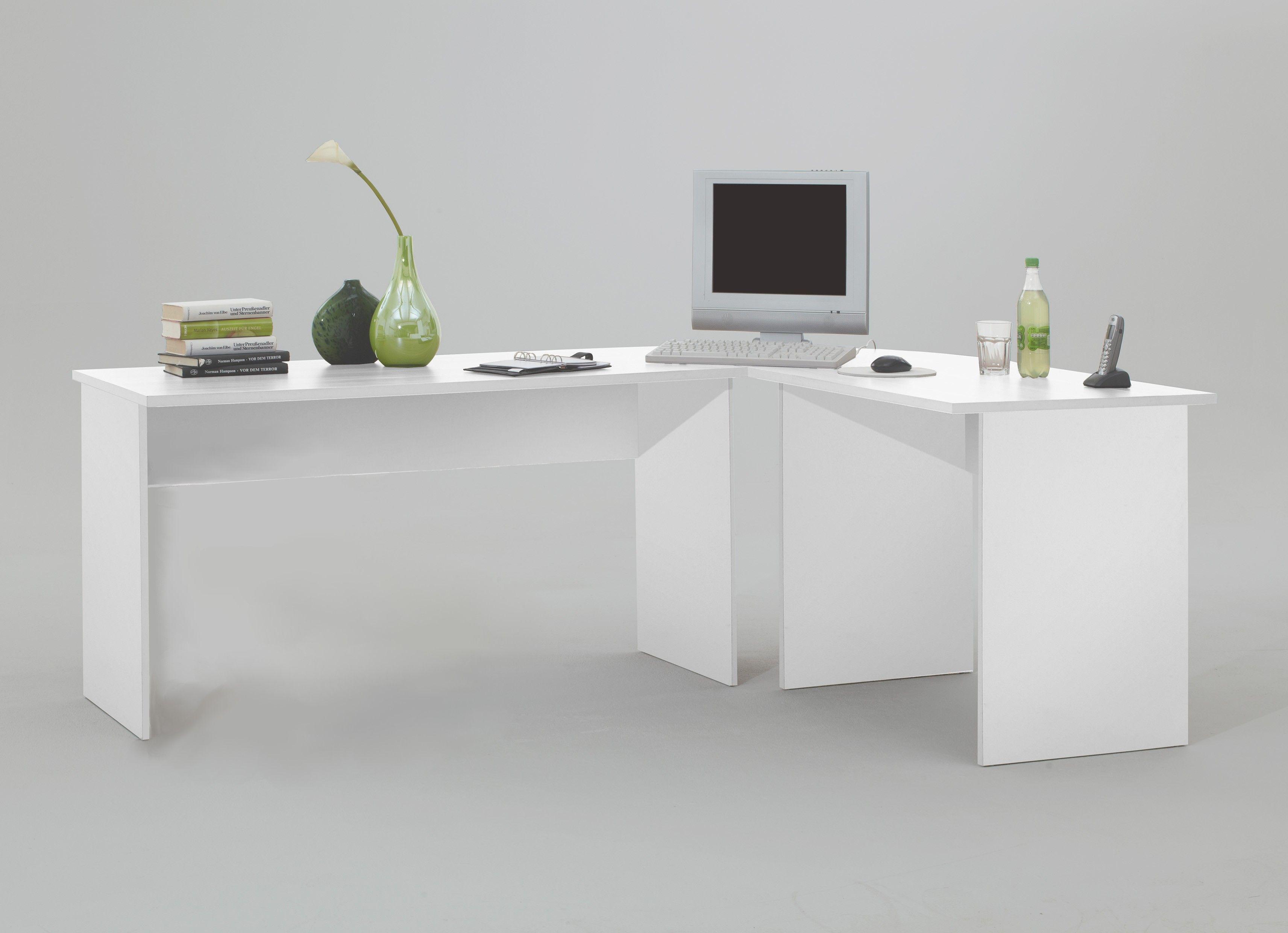 Bureau D Angle Arrondi bureau d'angle till - blanc