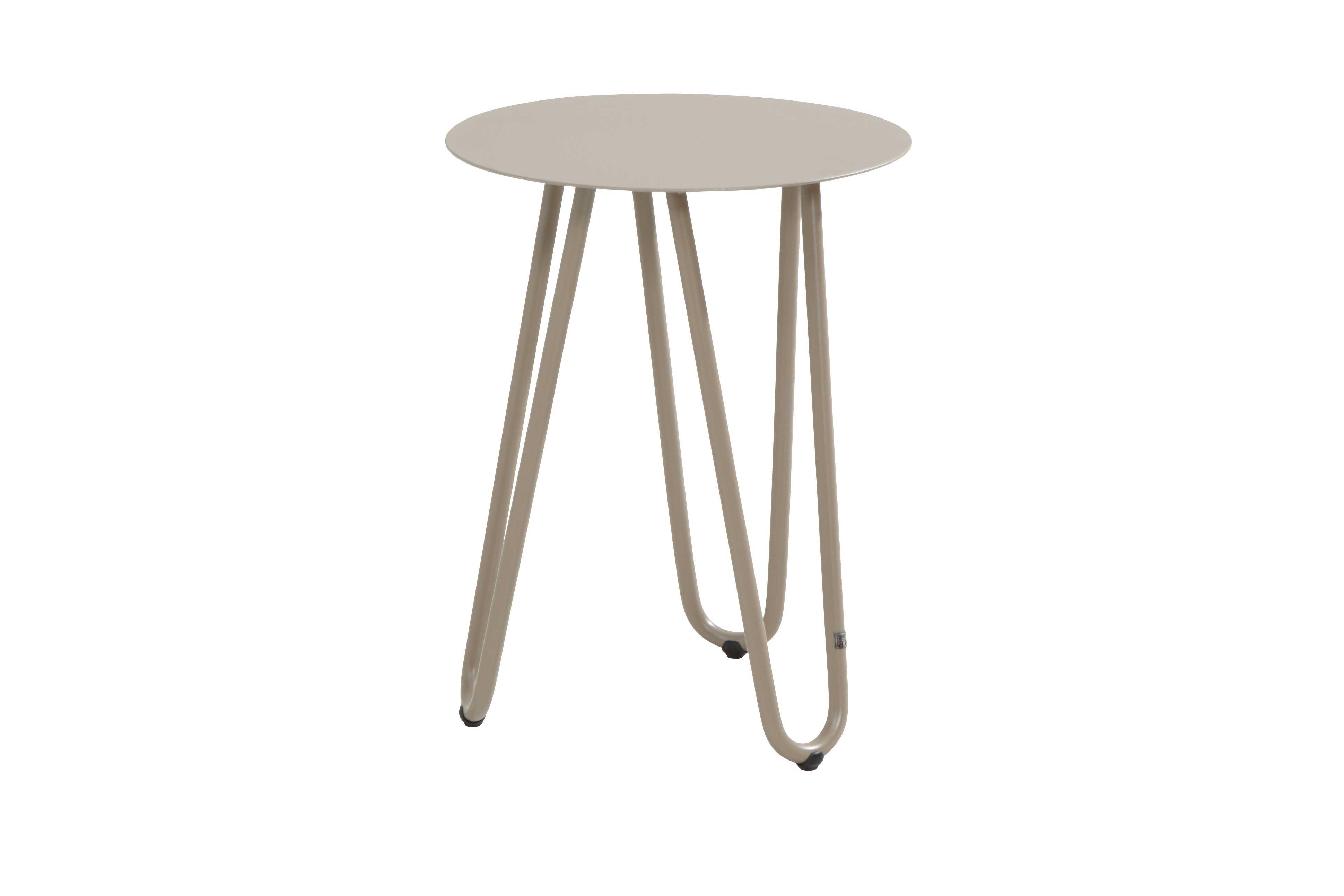 Table d\'appoint extérieur Cool Ø42x55 - taupe