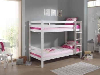 Stapelbed Claire 160cm - wit