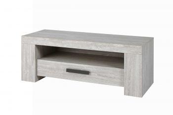 Meuble TV Jacques 130cm - gris clair
