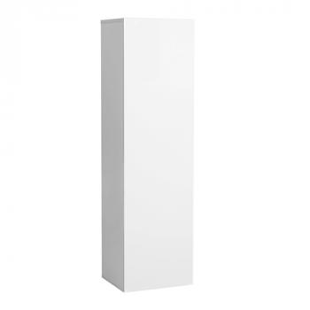 Wandkast Elif met 1 deur - hoogglans wit