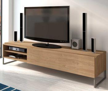 Tv-meubel Nomi 185cm - bruin