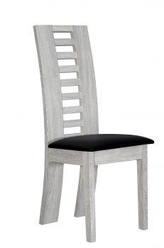 Set van 2 stoelen Lani - grijze eik