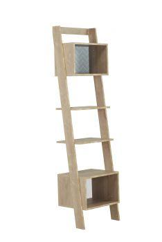 Bibliothèque échelle Lina - chêne