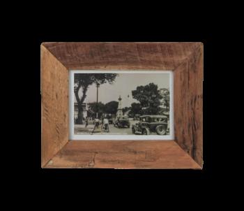 Cadre photo Antiq 34x27 cm - vieux teck