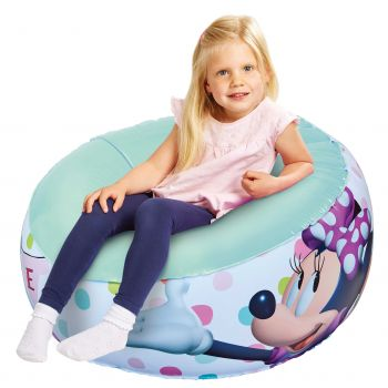 Opblaasbare kinderfauteuil Minnie Mouse