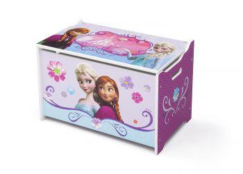 Coffre à jouets La Reine des neiges - violet
