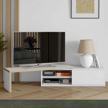 Tv-meubel Movie 110cm - wit