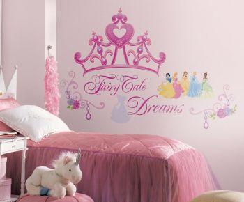 RoomMates muurstickers - Disney Princess Kroon