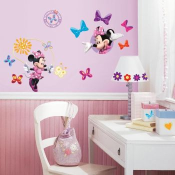 RoomMates muurstickers - Minnie Mouse multi
