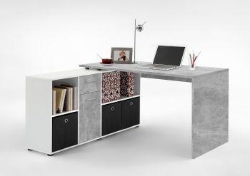 Bureau Lex - beton/wit