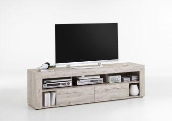 Tv-meubel Vidi 180 cm - grijze eik