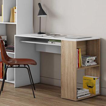 Bureau Meryl - eik/wit