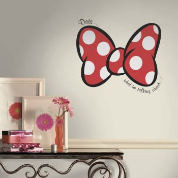 RoomMates muurstickers - Minnie Mouse Dots