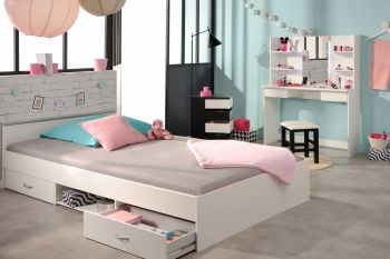 Bed Alma 140x190cm - wit