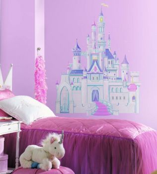 RoomMates muurstickers - Disney Princess Glitter