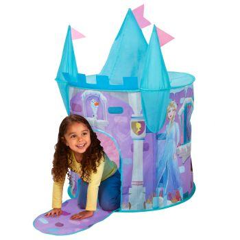 Pop-up speeltent Frozen 2 kasteel