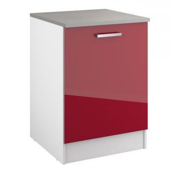 Onderkast Eli 60 cm met deur - rood