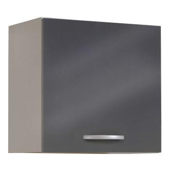 Bovenkast Spoon 60 cm - glossy grey